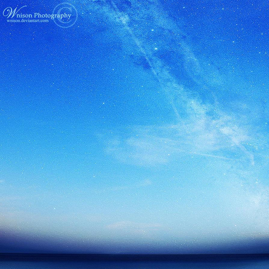 A Sea of a Galaxy by Wnison