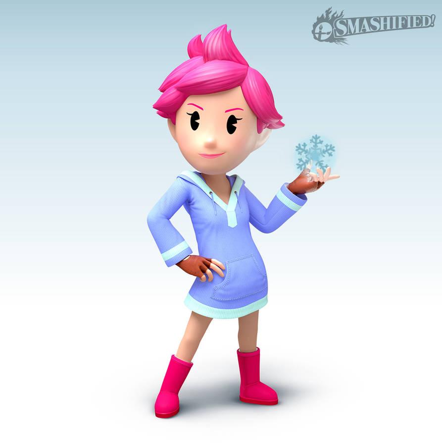 Kumatora Smashified: PK Freeze Version by The-Jazzy-Man