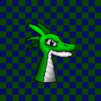 Green Dragon Head by The-Jazzy-Man