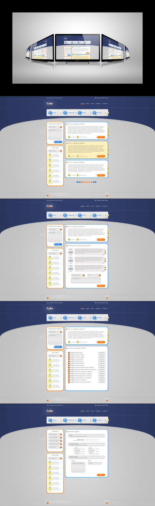 TooDo - aplikacja internetowa by damianchmiel
