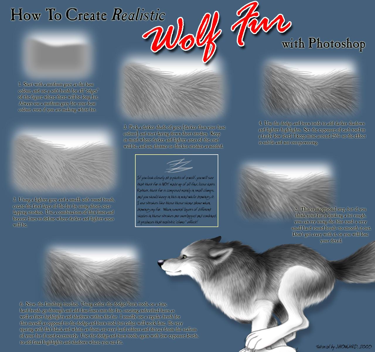 Fur Tutorial by ballistic-kitten