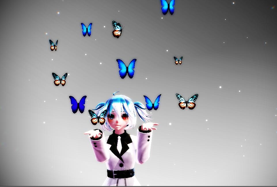 MMD Butterflies by yuu-333