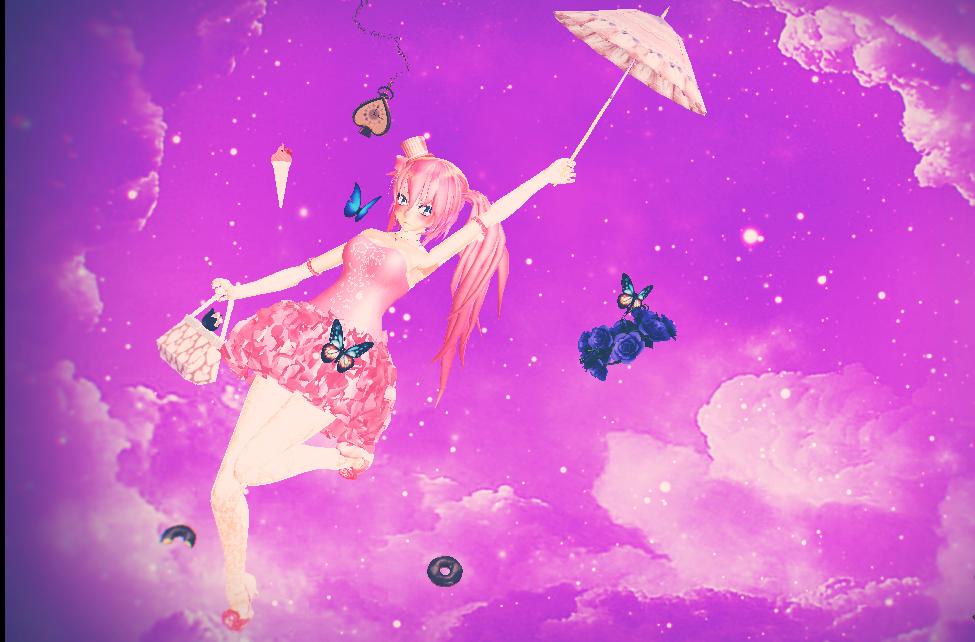 MMD Sky by yuu-333