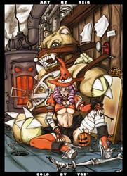 Reiq's Halloween