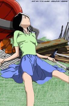 Rukia is sleeping