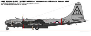 BOEING B-50D ''Superfortress''