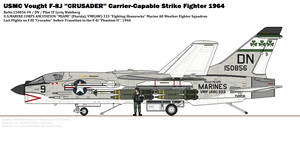 Vought F-8J ''Crusader'' (VMF(AW)-333)
