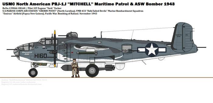 North American PBJ-1J ''Mitchell'' (VMB-433)