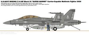 BOEING F/A-18F(III) ''Super Hornet'' (VFA-103)