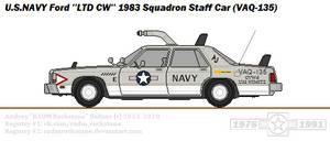VAQ-135 Squadron Staff Car