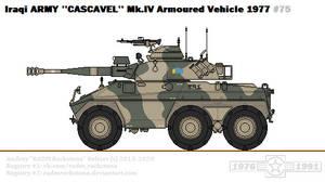 Engesa ''Cascavel'' Mk.IV (Iraq)