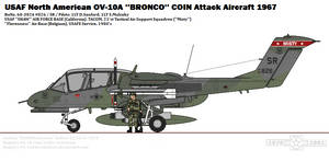 North American OV-10A ''Bronco'' (USAF)