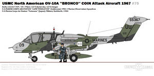 North American OV-10A ''Bronco'' (VMO-2)