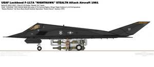 Lockheed F-117A ''Nighthawk''