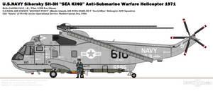 Sikorsky SH-3H ''Sea King'' (HS-9)