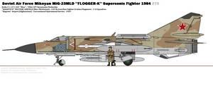 Mikoyan MiG-23MLD ''Flogger-K''