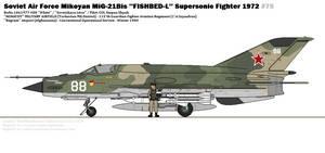 Mikoyan MiG-21Bis ''Fishbed-L''