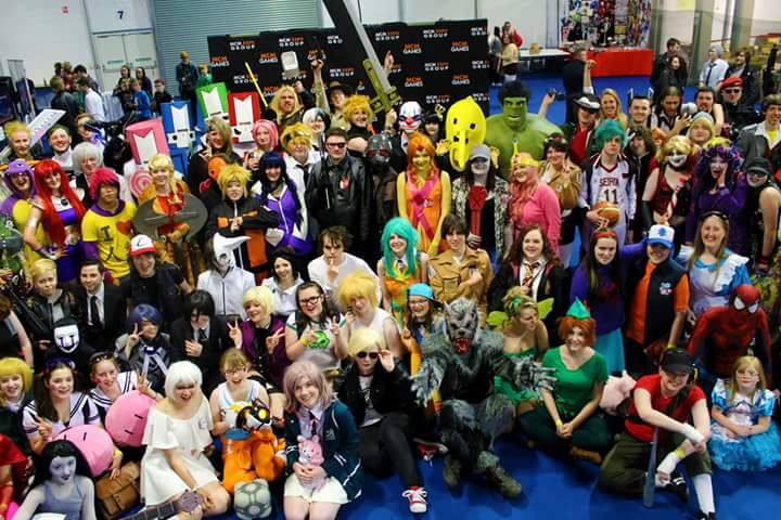 Comic Con Cosplay Group Photo by good-flippy on DeviantArt