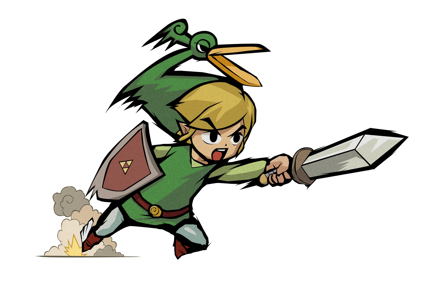 minish cap coloring pages - photo#22