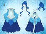 Spirit of Water Dress Design
