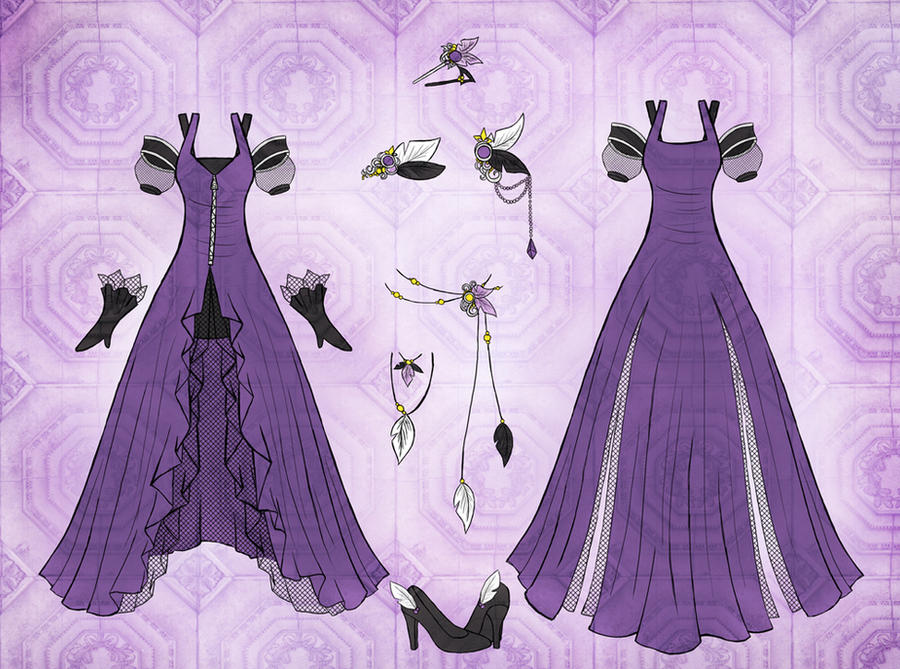 Commission Shuzi Dress Design by Eranthe
