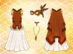 Hawk Dress Design