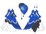 Blue Jay Dress Design