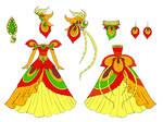 phoenix dress design