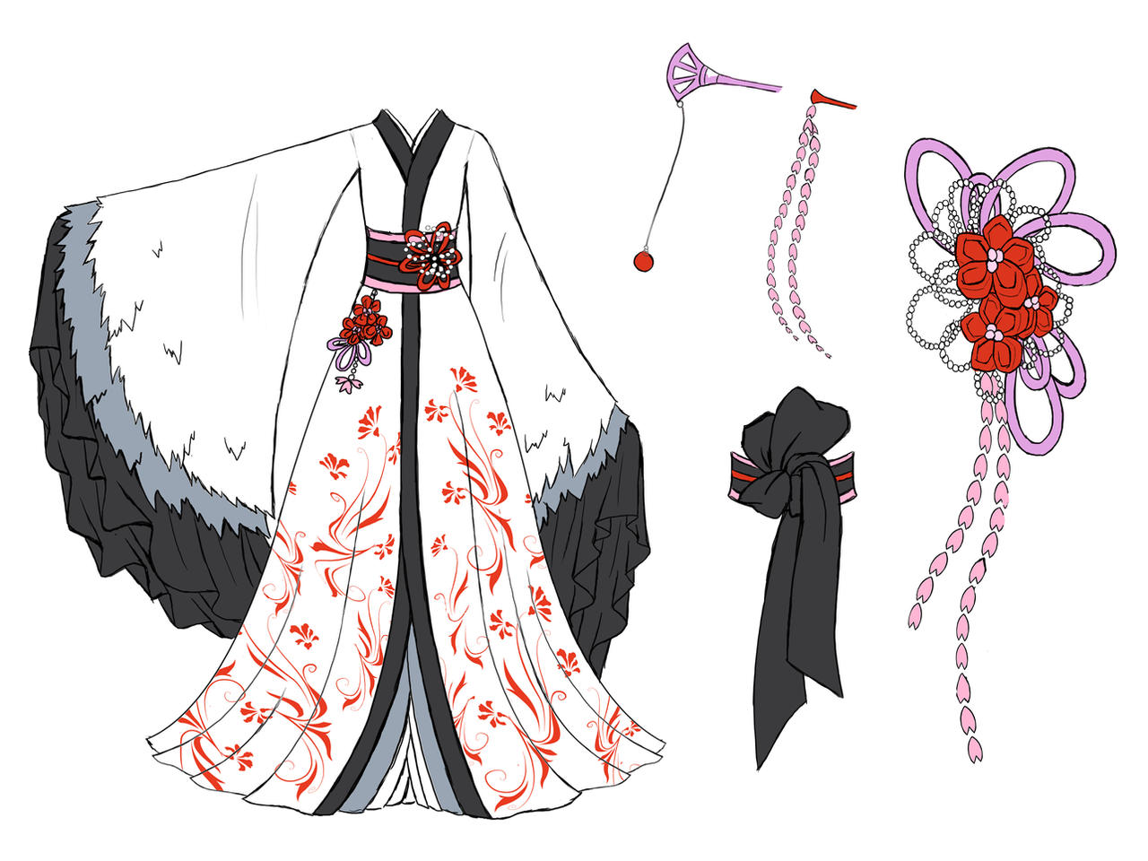 Crane Dress Design By Eranthe On Deviantart