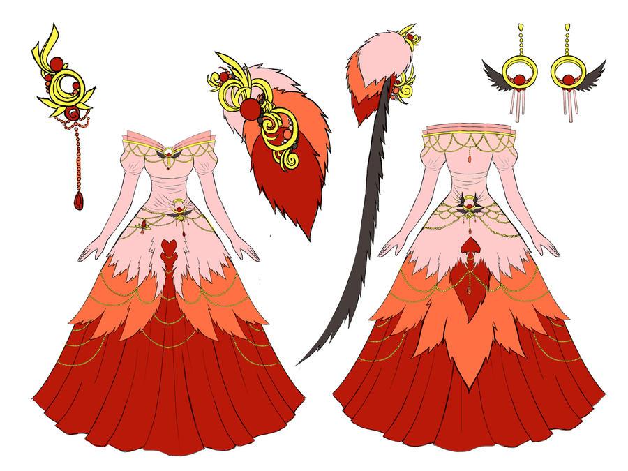 Flamingo dress design by eranthe on deviantart for Cool games for girls wedding dress up