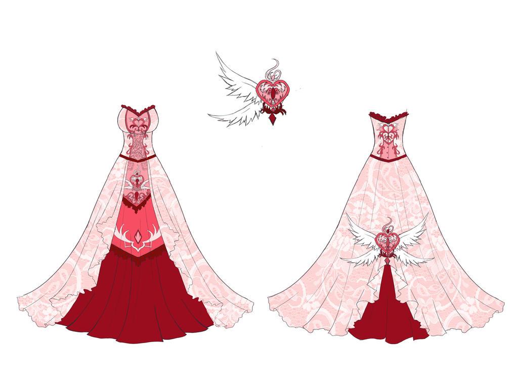 Angel battle dress design by Eranthe
