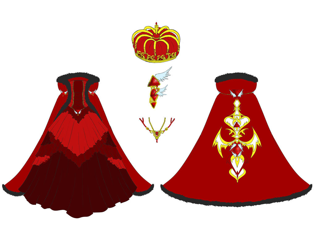 Ruby Dress Design by Eranthe