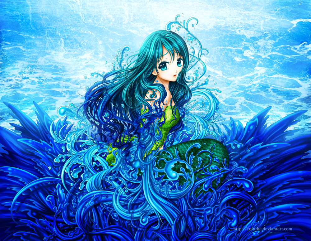 Little Mermaid By Eranthe On DeviantArt