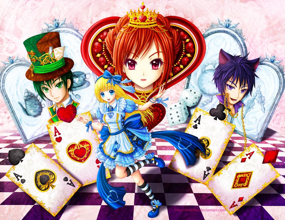 Alice In Wonderland by Eranthe on DeviantArt