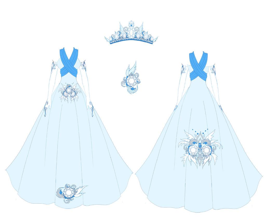 Diamond Dress Design by Eranthe