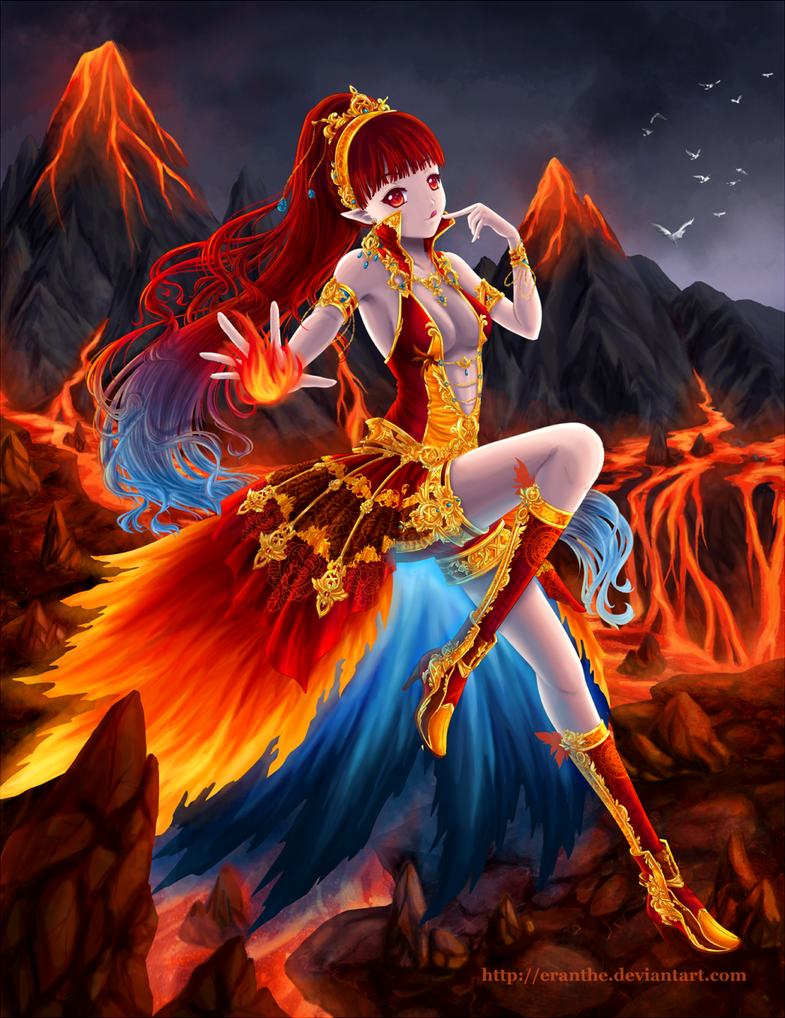 Elements Fire By Eranthe On Deviantart