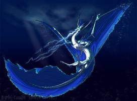 Aquarius by KingGiantess