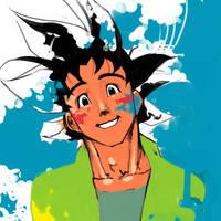 Goku by dodoithu