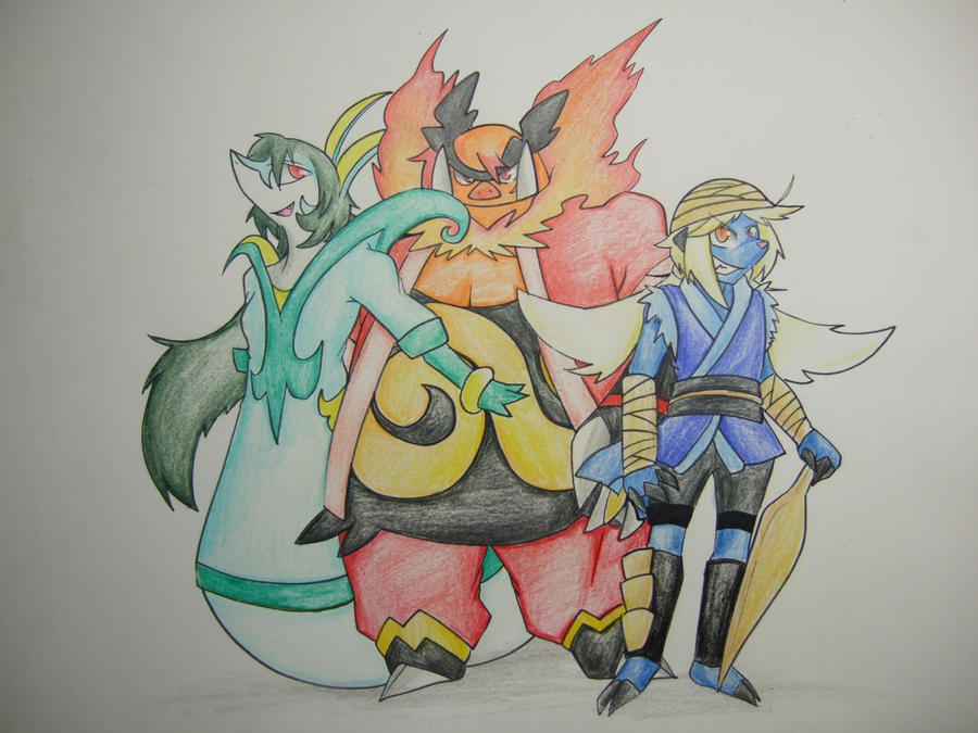 Pokemon Serperior And Samurott And Emboar Serperior Emboar Samurott by