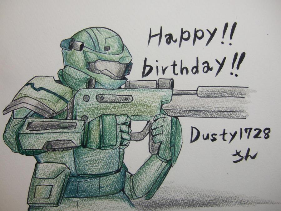 Happy birthday! by POKA-chan
