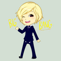 BIGBANG -- Daesung chibi by ninetozero