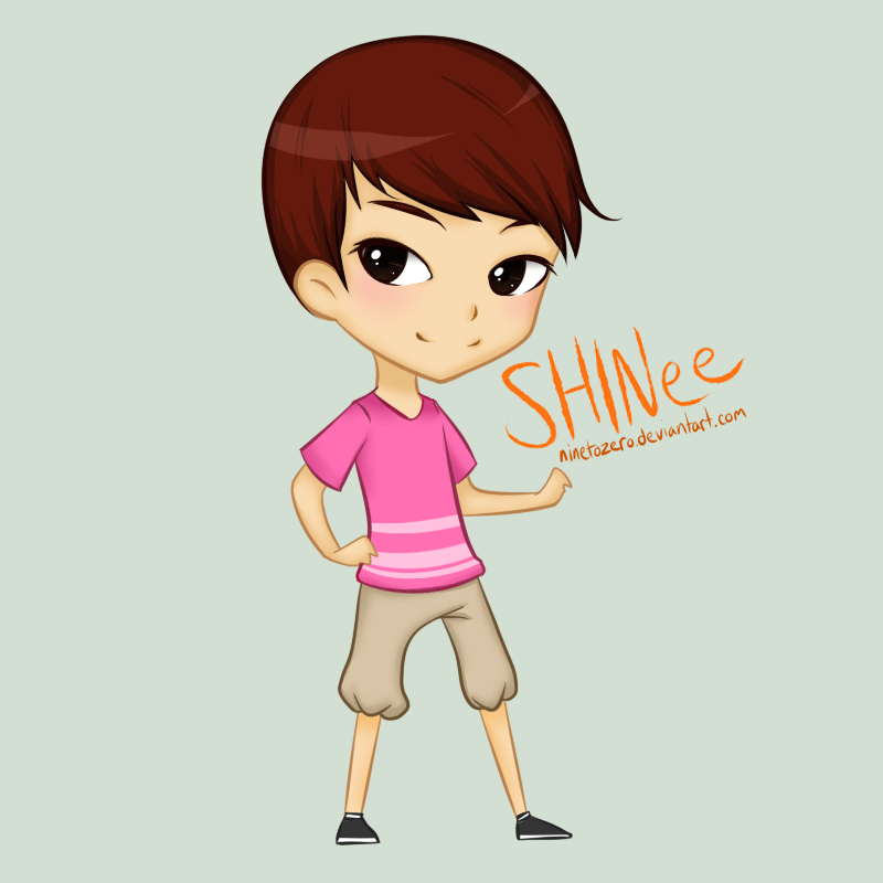 shinee key chibi by ninetozero on deviantart
