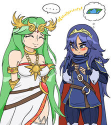 Palutena And Lucina