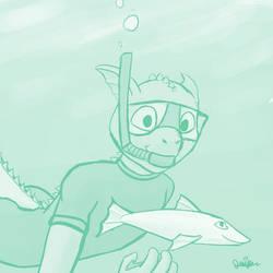 Aqua aquatics by Juniper-Lynx