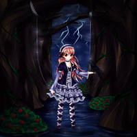 Phoenix~ marionette in the flooded forest by dathie