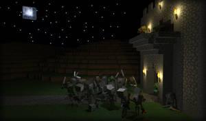 Skeleton Army by LockRikard