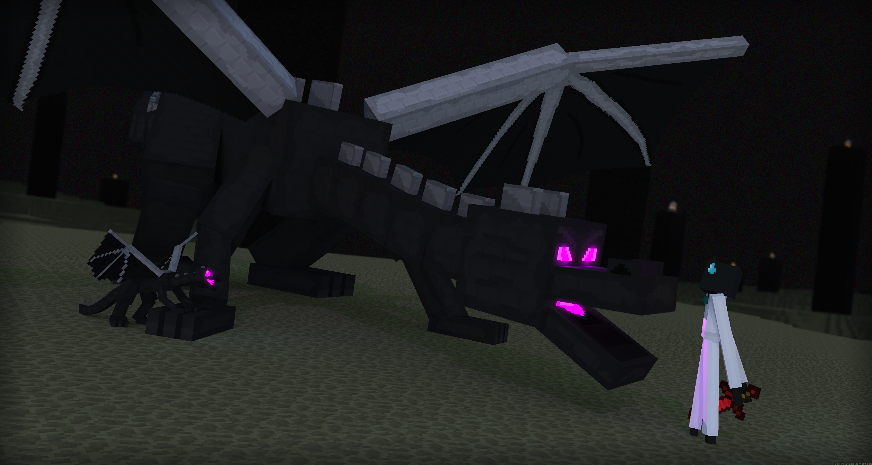 Spell Minecraft Before Someone Posts A EnderDragon