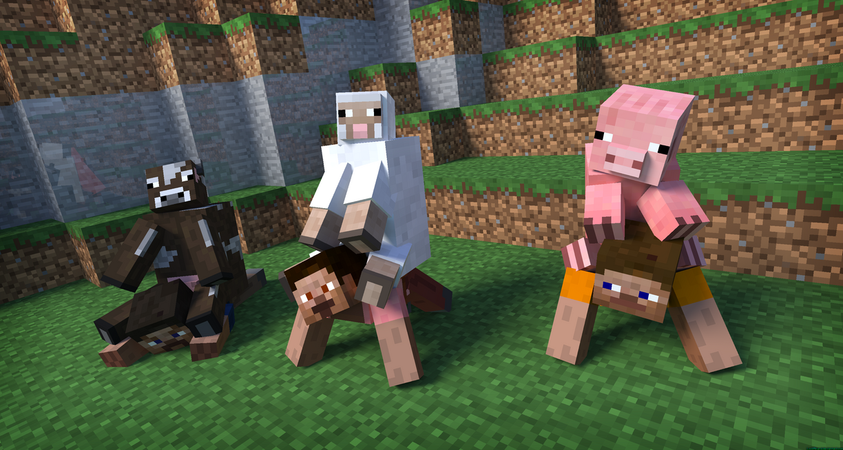New way of transporting mobs by LockRikard