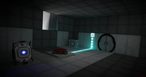 Portal - Minecraft edition by LockRikard