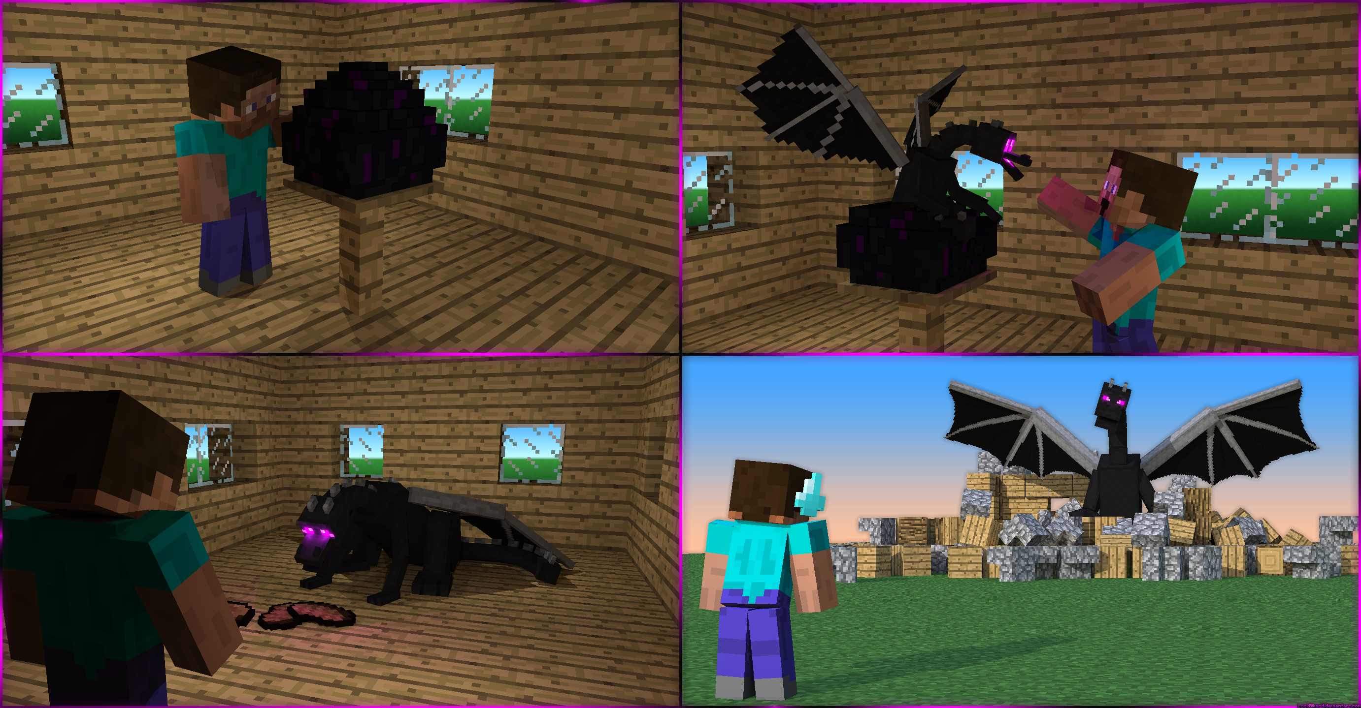 How Not To Raise An Enderdragon By LockRikard